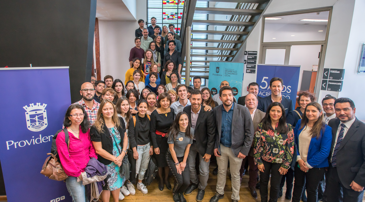 Providencia inauguró la primera Academia de Emprendimiento municipal de Chile