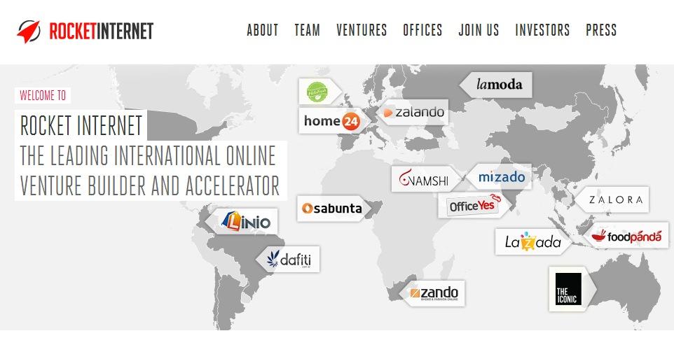 Rocket Internet cerro Tucany en Sudamerica