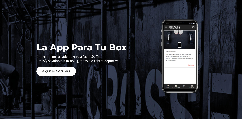 Crossfy la plataforma para boxes de crossfit ya está en Chile